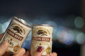 Veital Designs New Year in Kyoto, Japan, Kirin Beer, Fushimi Inari New Year