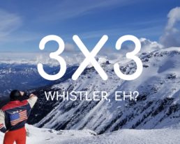 Whistler Adventure Mountains Downhill skiing Veital Designs.