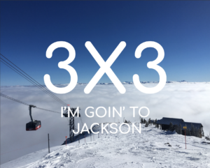 Veital Designs Jackson Hole 3x3 downhill skiing