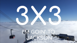 Veital Designs Jackson Hole 3x3 downhill skiing