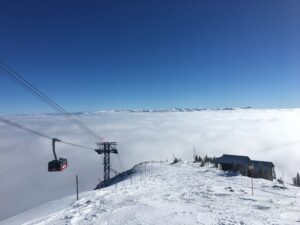 Veital Designs Jackson Hole 3x3 downhill skiing Inversion Pic